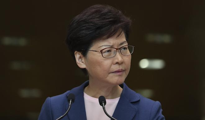 Hong Kong Chief Executive Carrie Lam declared the extradition bill to be 'dead' earlier this month but she did not withdraw it completely, as demanded by protesters. Photo: Robert Ng