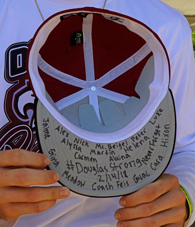 Life after the shooting for the Stoneman Douglas baseball team