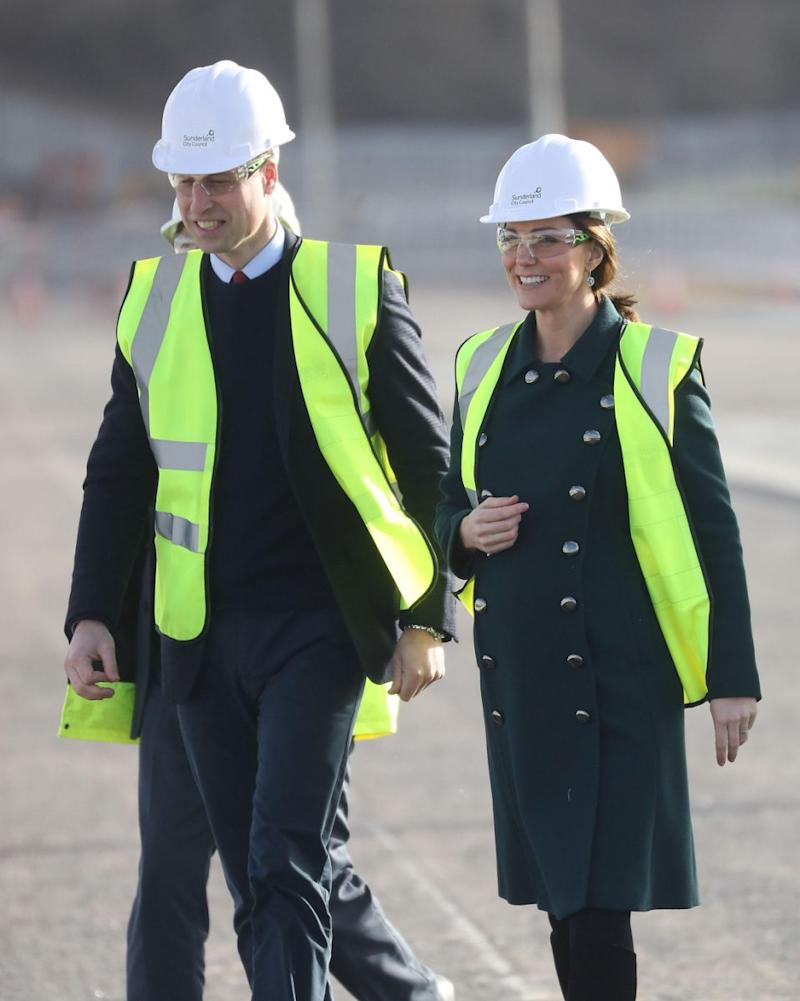 Kate been spotted a slew of public events, despite being just weeks away from welcoming her third child. Photo: Getty