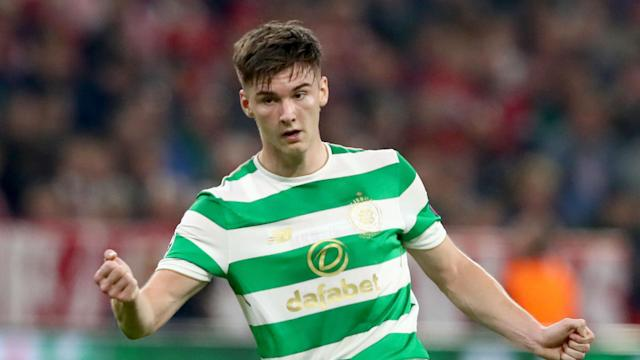 The highly-rated full-back continues to be linked with a move to Old Trafford, but he has not long since committed to a six-year contract at Parkhead