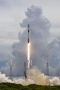 D-Orbit's ION Satellite Carrier (ION) launched from Cape Canaveral today atop a SpaceX Falcon 9 rocket.