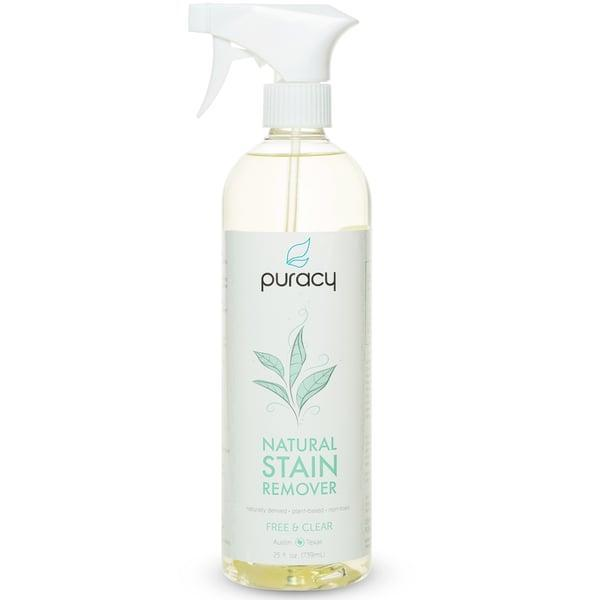 <p><span>Puracy Natural Stain Remover</span> ($20, originally $21) is hypoallergenic, biodegradable, vegan, and cruelty-free. </p>
