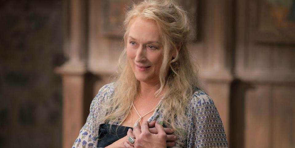 Streep plays Donna in the Mamma Mia! franchise