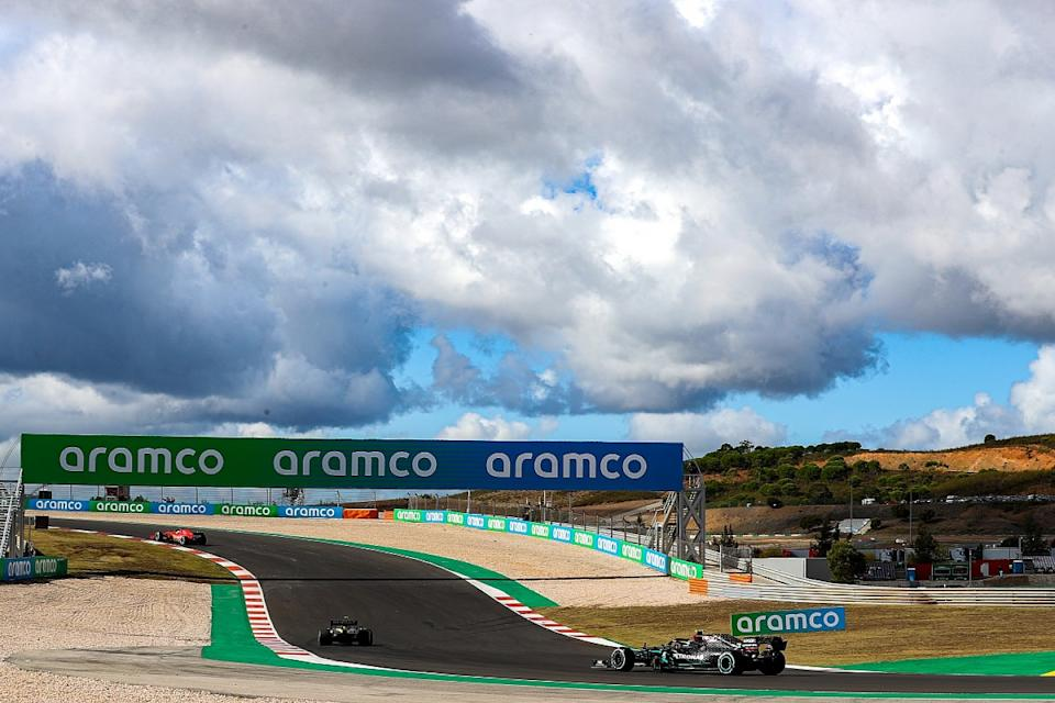Bottas leads Mercedes 1-2 in first Portimao F1 practice