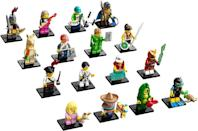 <p>This season of Lego Minifigures ($5 each) comes out in April and features a scuba diver, guitarist, and more.</p>