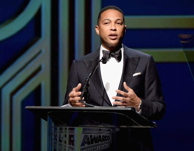 BEVERLY HILLS, CA - SEPTEMBER 21: Jornalist Don Lemon speaks on stage at the ADCOLOR Awards at The Beverly Hilton Hotel on September 21, 2013 in Beverly Hills, California. (Photo by Michael Kovac/Getty Images for AdColor)