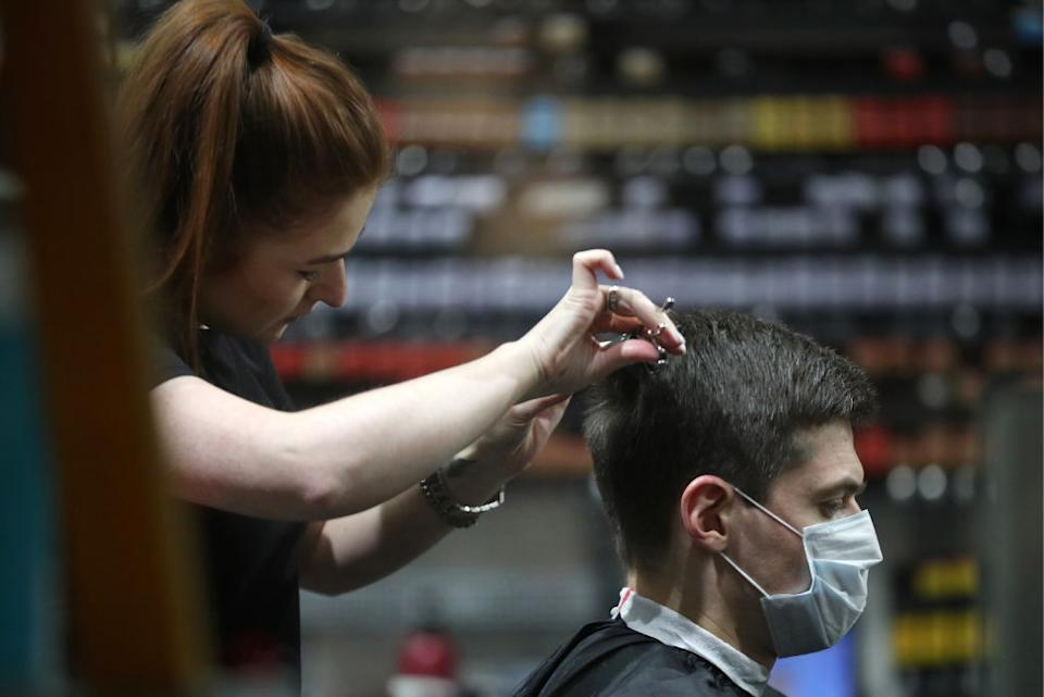 Hairdressers will remain open. Source: Getty