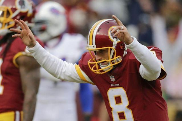 Kirk Cousins is playing on the franchise tag in 2016 (AP)