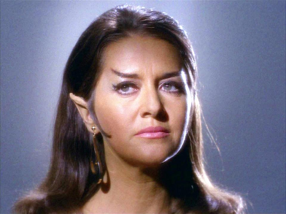 Linville as a Romulan commander in 'The Enterprise Incident' (CBS/Getty)