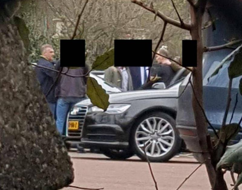The GRU officers were apprehended by Dutch intelligence officers (Dutch Ministry of Defence/PA)