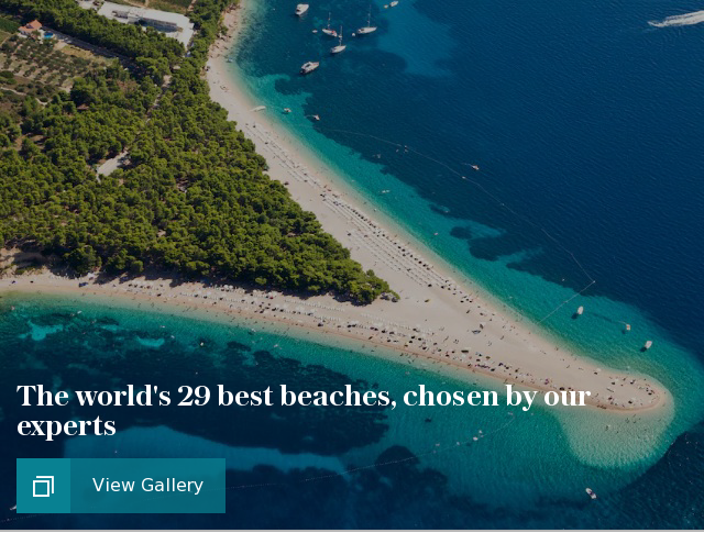 The world's 29 best beaches, chosen by our experts