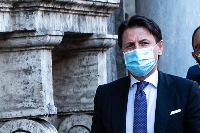 ROME, ITALY - 2020/07/15: Prime Minister, Giuseppe Conte seen after a senate session. (Photo by Cosimo Martemucci/SOPA Images/LightRocket via Getty Images) (Photo: SOPA Images via Getty Images)