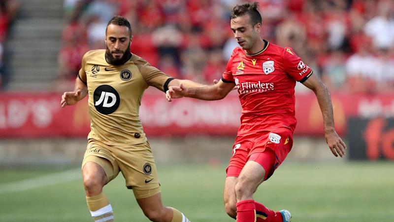 ALEAGUE ADELAIDE UNITED WANDERERS Elrich