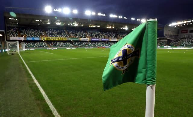 Baraclough's first game in charge at Windsor Park will come against Norway on September 7 (Brian Lawless/PA)
