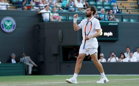 Once top-10, qualifier Gulbis tops No. 4 Zverev at Wimbledon