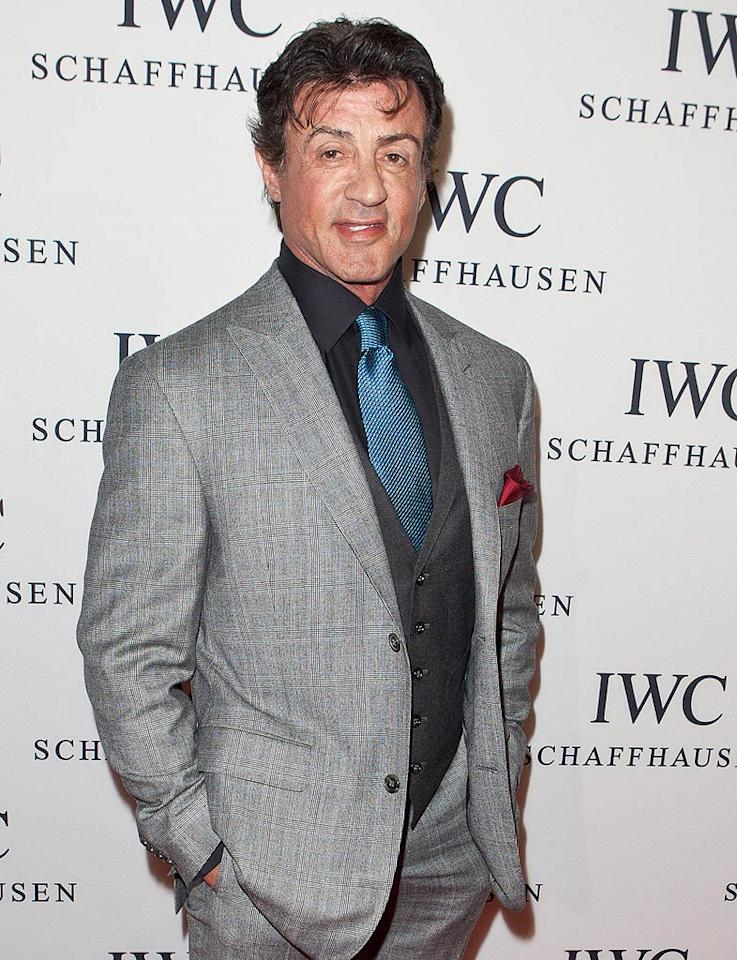 "Sylvester Stallone turns 65 Chelsea Lauren/<a href=""http://www.wireimage.com"" target=""new"">WireImage.com</a> - April 28, 2011"