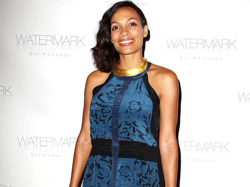 Rosario Dawson: Nudity doesn't faze me