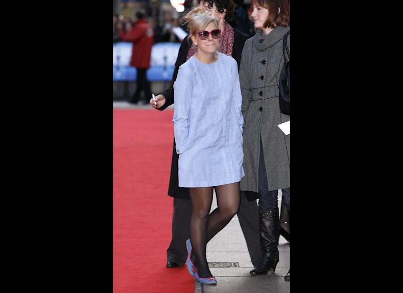 <strong>2008</strong> Lily arriving at the World Premiere of <em>Flashbacks of a Fool</em>