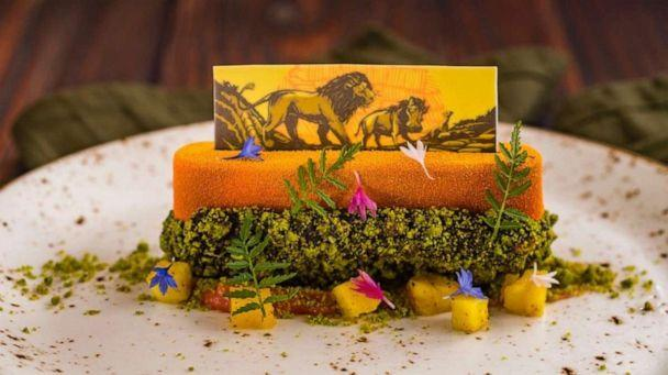 PHOTO: Limited-time The Lion King Menu from Jiko – The Cooking Place at Disney's Animal Kingdom Lodge. (Disney Parks )