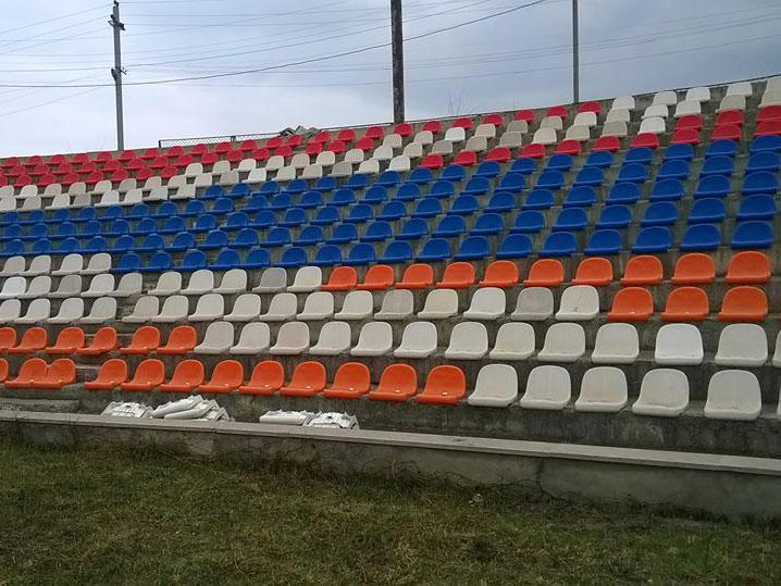 The City Stadium in Stepanakert