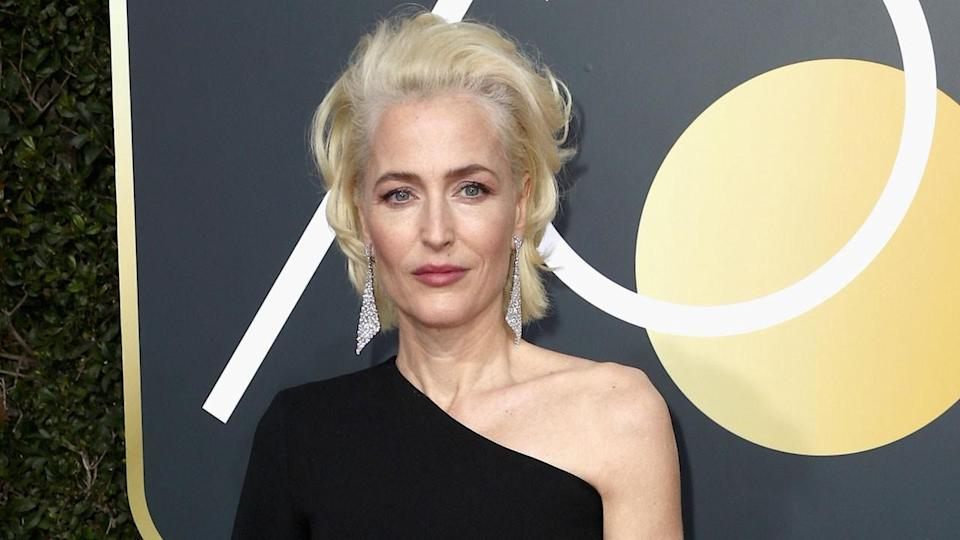 Dare to bare: X Files actress, Gillian Anderson poses NUDE