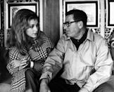 <p>Tate is seen discussing a scene with director Mark Robson while filming her biggest—and by far most controversial—role as Jennifer North in <em>Valley of the Dolls. </em></p>