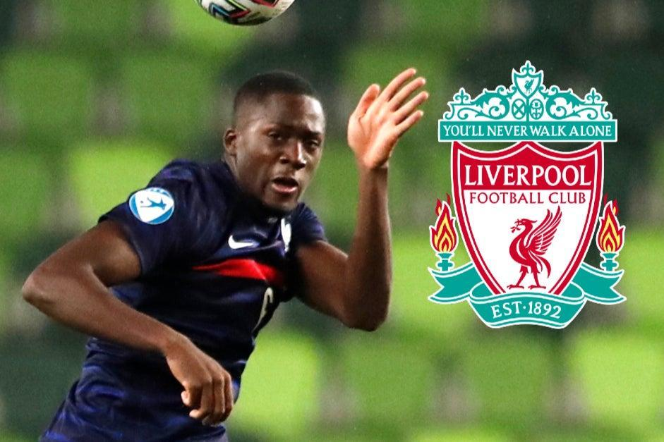 <p>Liverpool are said to be eyeing a move for RB Leipzig defender Ibrahima Konate</p> (Reuters)