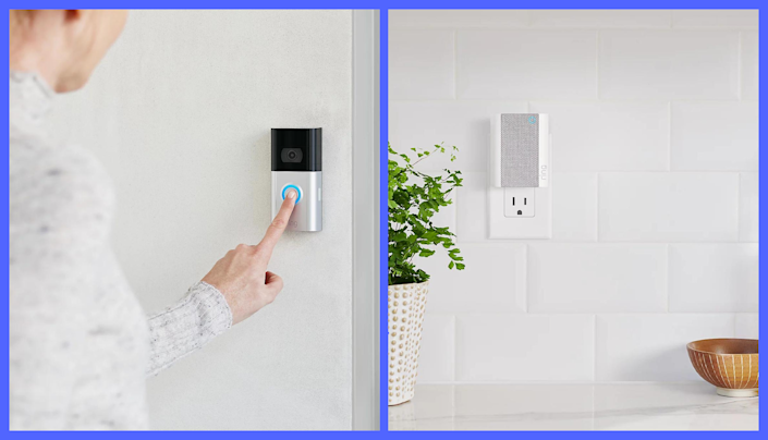 Save $49—Ring Video Doorbell 3, Ring Chime and Ring Assist+. (Photo: Ring)