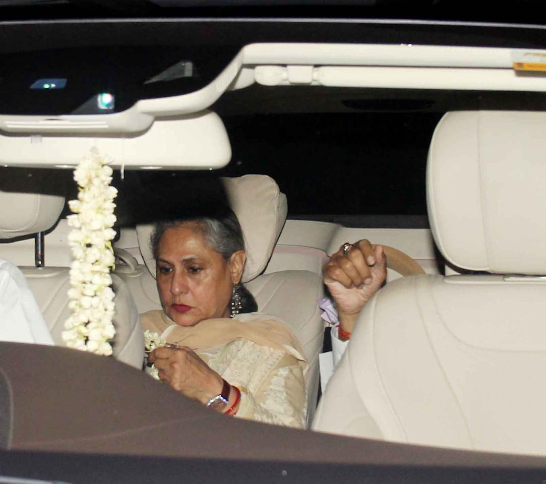 Hema Malini Celebrates Her 68th Birthday With Friends And