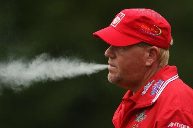 Daly has resolved to give up smoking (Lynne Cameron/PA)