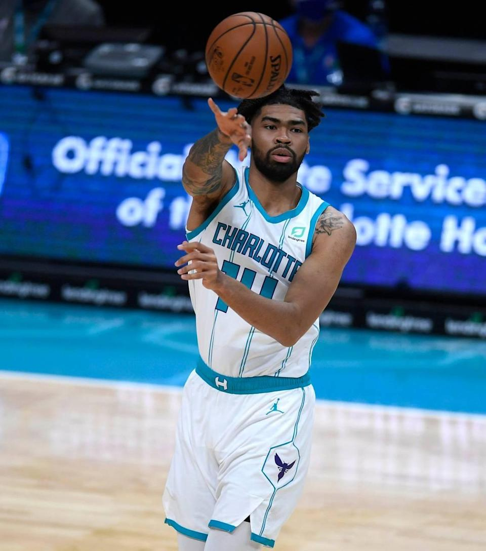 Charlotte Hornets rookie Nick Richards is going to the G-League bubble to play for the Greensboro Swarm.