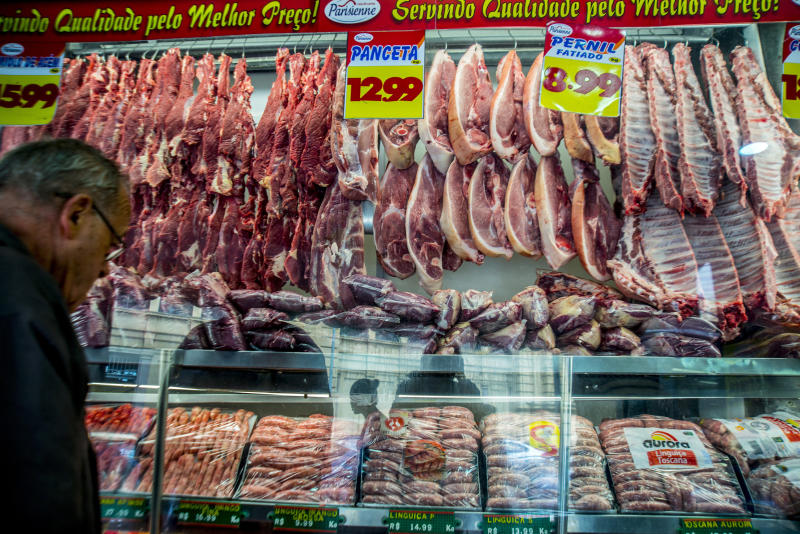 Fresh meat imported from Brazil faces ban in the US
