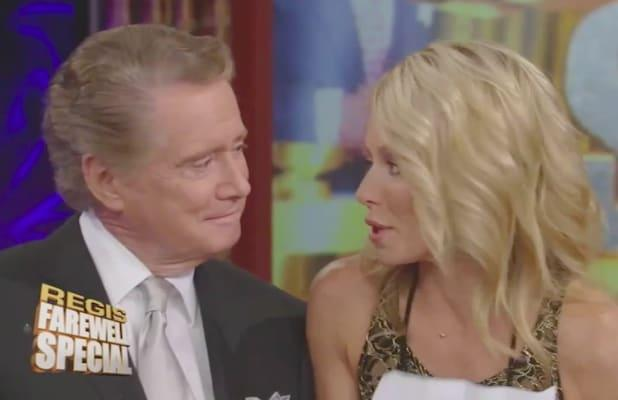 Regis Philbin Tribute Drives Huge Ratings Growth for 'Live With Kelly and Ryan'