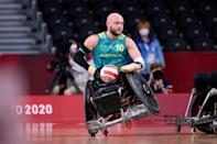 Clashes in the sport often see chairs tip or topple over (AFP/Behrouz MEHRI)