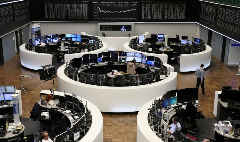 World stocks stall as U.S.-China tensions flare again