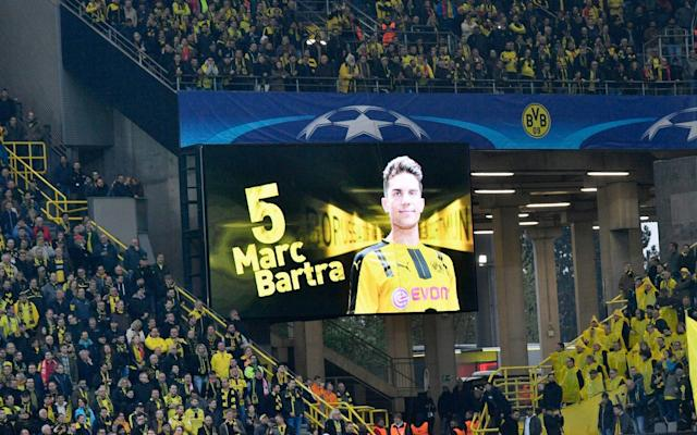 Bartra was the only player to receive serious injuries in the blast - AP
