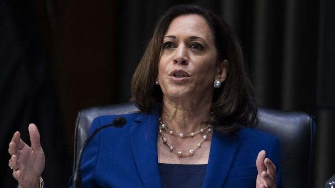 Cawapres AS Kamala Harris. Dok: AP Photo