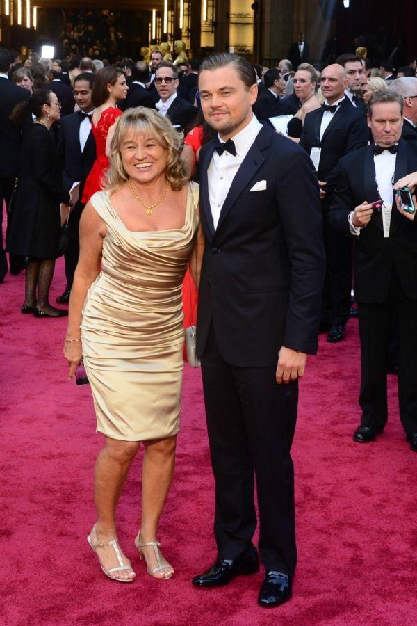 <p>As the best performance winner at the 2014 Golden Globes, Leonardo had his beautiful mom, Irmelin Indenbirken, nearby to help celebrate his special moment. </p>