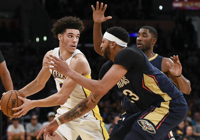 Is Lonzo Ball becoming a target for opposing players? (AP)