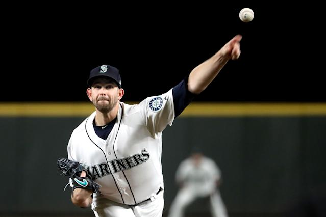 The Yankees have reportedly struck a deal for Mariners left-hander James Paxton. (Photo by Abbie Parr/Getty Images)