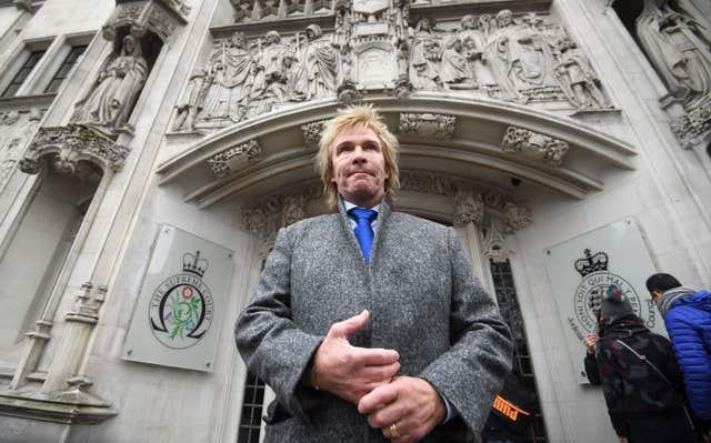 Charlie Mullins, founder of Pimlico Plumbers, said last month that his company will not take on anybody who has not been vaccinated (Victoria Jones/PA)