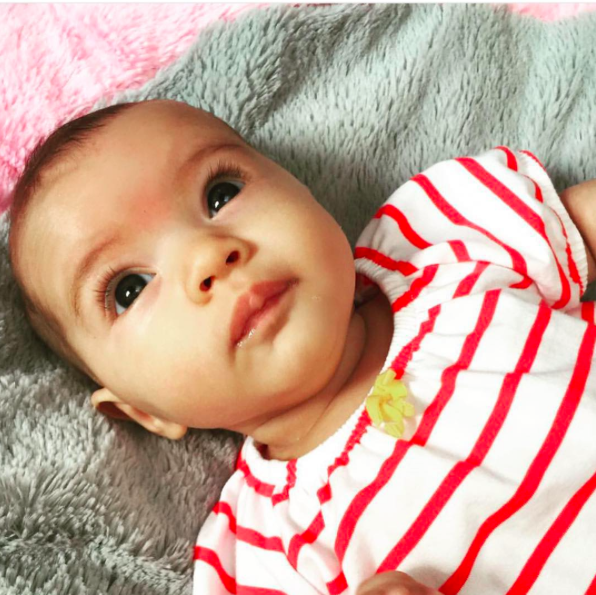 <p>Ashlee Simpson already has a 7-year-old son named Bronx Mowgli, with former husband, Pete Wentz, so it made sense that the moniker she chose for her next baby with husband Evan Ross, would follow the same out-there path. Daughter, Jagger Snow, was born in 2015.<i>[Photo: Instagram/ ashleesimpsonross]</i></p>
