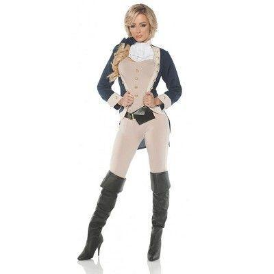 """<p><strong>UnderWraps</strong></p><p>target.com</p><p><strong>$44.99</strong></p><p><a href=""""https://www.target.com/p/americana-adult-costume/-/A-78140535"""" rel=""""nofollow noopener"""" target=""""_blank"""" data-ylk=""""slk:Shop Now"""" class=""""link rapid-noclick-resp"""">Shop Now</a></p><p>Nobody ever said a woman couldn't dress up as a founding father.</p>"""