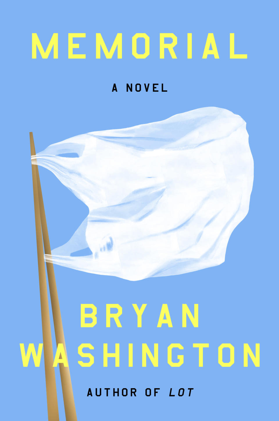 """This cover image released by Riverhead Books shows """"Memorial,"""" a novel by Bryan Washington. (Riverhead Books via AP)"""