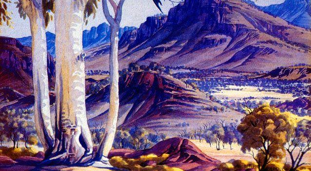 Namatjira created about 2000 artworks during his life. Photo: Getty