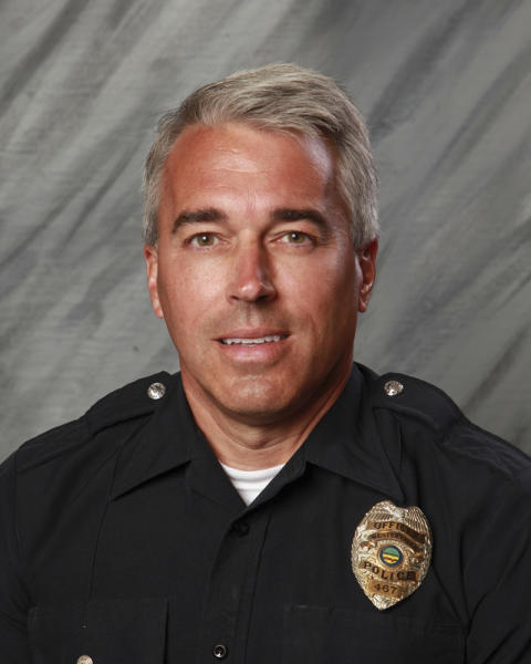 This undated photo provided by the City of Westerville, Ohio shows Officer Anthony Morelli, 54, who was fatally shot while responding to a hang-up 9-1-1 call on Saturday, Feb. 10, 2018. Officer Eric Joering, 39, was also killed in the incident. (City of Westerville via AP)