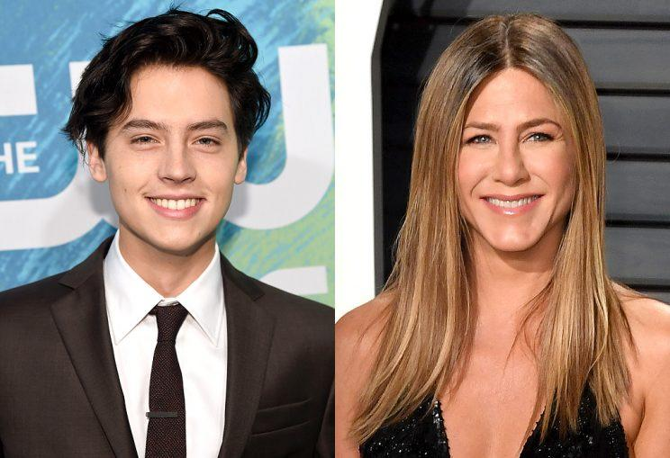 Jennifer Aniston probably wouldn't recognize Cole Sprouse today. (Photo: Getty Images)