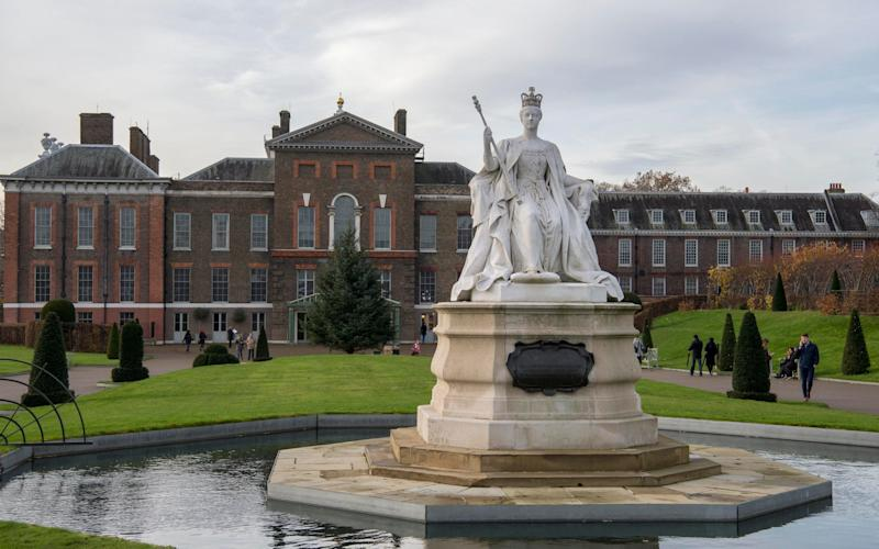 A view of the front of Kensington Palace - Paul Grover