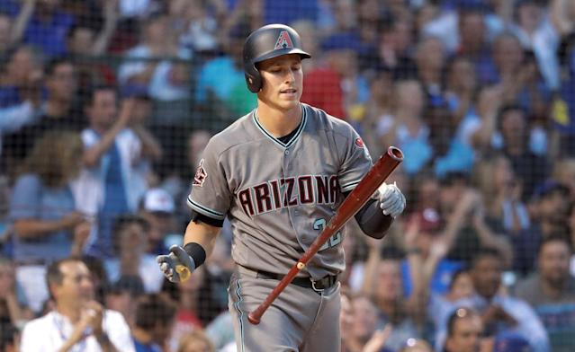 "Losing <a class=""link rapid-noclick-resp"" href=""/mlb/players/9781/"" data-ylk=""slk:Jake Lamb"">Jake Lamb</a> is tough for the <a class=""link rapid-noclick-resp"" href=""/mlb/teams/ari"" data-ylk=""slk:D-backs"">D-backs</a>, but they already have an in-house replacement. (AP Photo)"