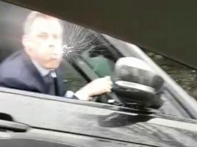 Jamie Carragher: Police contact driver who filmed ex-Liverpool player spitting at him as he receives 'death threats'